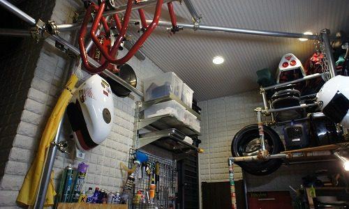 ガレージ整備