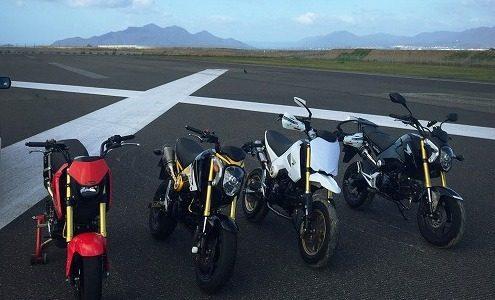 GROM 4月の「オートバイの練習会」