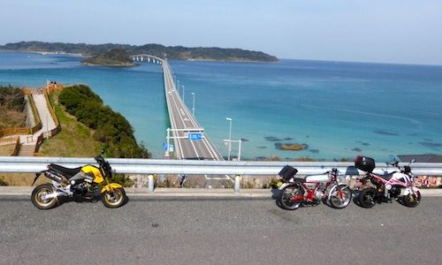 GROM 角島方面ツーリング