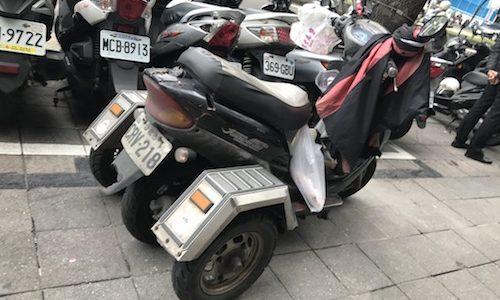 台湾のバイクなどの話