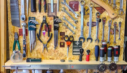 よく使う工具棚