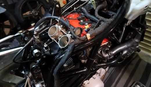 NUDA900R 納車のための整備