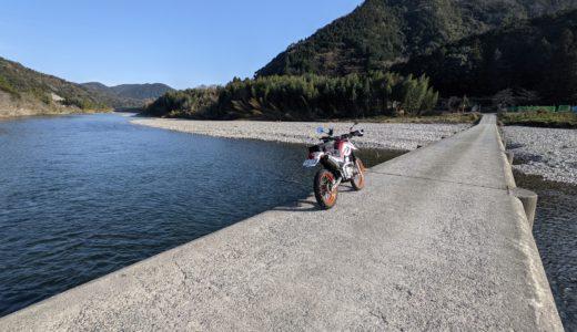 SEROW 山口県東部沿岸ツーリング